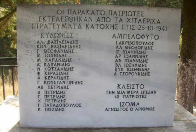 Μνημείο Σφαγιασθέντων