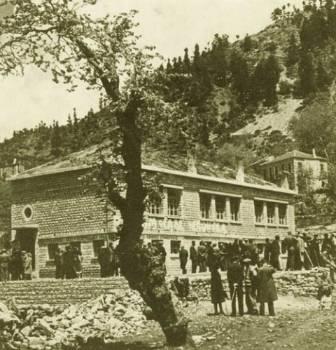 Το ιστορικό σχολείο όπου συνήλθε το Εθνικό Συμβούλιο
