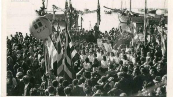 Παρέλαση στην Ελεύθερη Θεσσαλονίκη