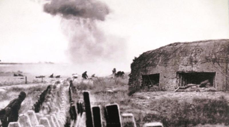 Η μάχες στα οχυρά Ρούπελ